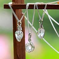 言祝ぎ~ことほぎ~一点もの高品質ハーキマーダイヤモンドネックレス