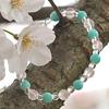 春の息吹ブレスレット
