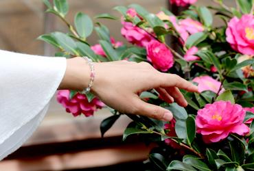 「開運2019~愛と前進~」ピンクトルマリンシリカブレスレットのイメージ画像7