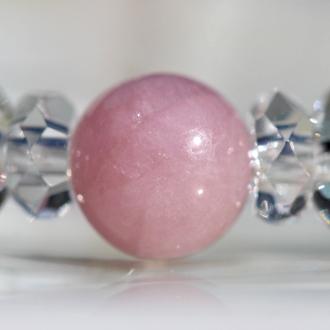 「愛と癒し」優しい色のピンクトルマリンブレスレットのイメージ画像5