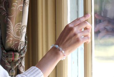 「愛と癒し」優しい色のピンクトルマリンブレスレットのイメージ画像8