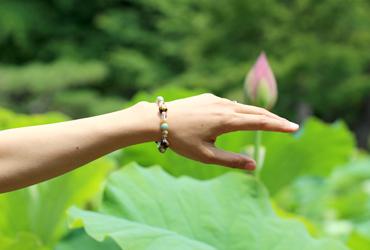 「成功」高品質金の龍彫りタイガーアイブレスレットのイメージ画像9