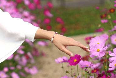 「秋桜」最高品質ルビーブレスレット(御あつらえ~ルビー~)のイメージ画像10