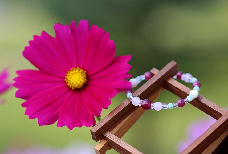 「秋桜」最高品質ルビーブレスレット(御あつらえ~ルビー~)のイメージ画像5