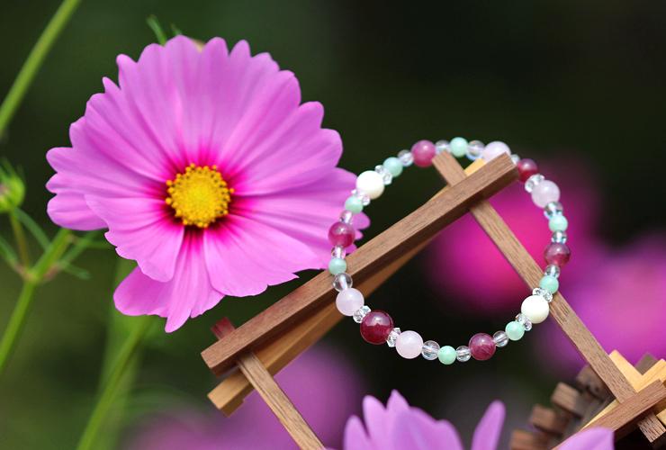 「秋桜」最高品質ルビーブレスレット(御あつらえ~ルビー~)のイメージ画像6
