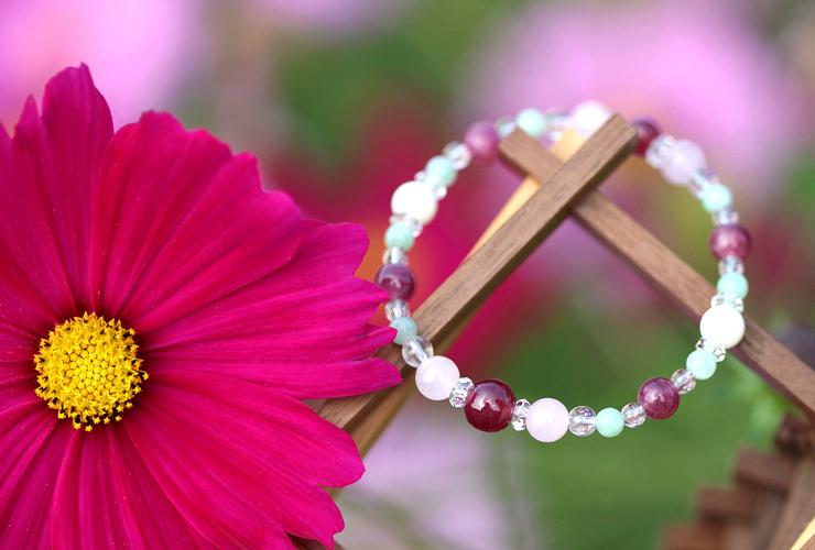 「秋桜」最高品質ルビーブレスレット(御あつらえ~ルビー~)のイメージ画像7