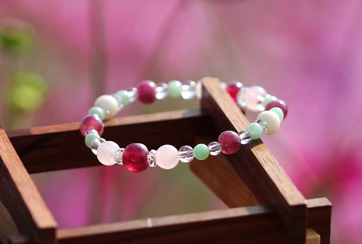 「秋桜」最高品質ルビーブレスレット(御あつらえ~ルビー~)のイメージ画像8