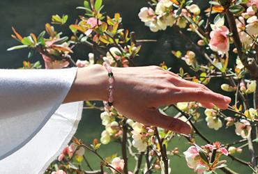 「花時計」最高品質ダイオプサイトブレスレット(御あつらえ~ダイオプサイト~)のイメージ画像7