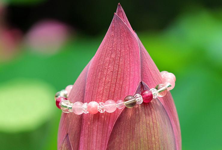 「蓮花」最高級品質ルビーブレスレット(御あつらえ~ルビー~)のイメージ画像5