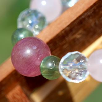 「愛の灯」高品質ピンクトルマリンブレスレットのイメージ画像4