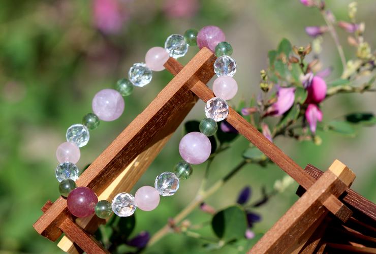 「愛の灯」高品質ピンクトルマリンブレスレットのイメージ画像5