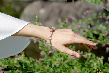 「愛の灯」高品質ピンクトルマリンブレスレットのイメージ画像8