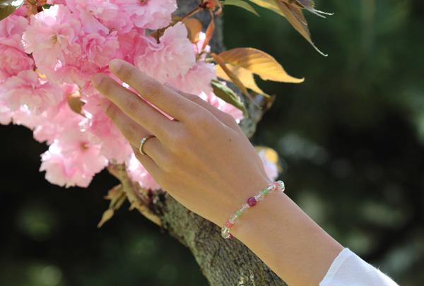 「花咲か」特選ルビーブレスレットのイメージ画像2