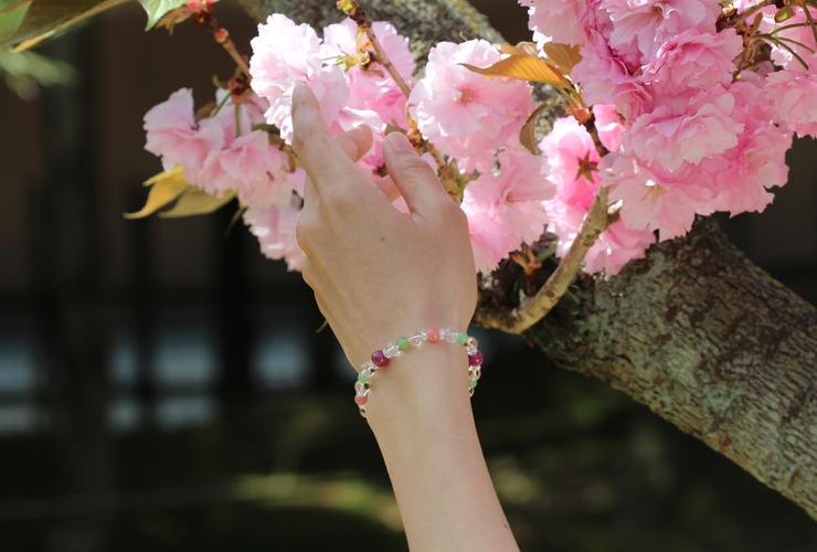 「花咲か」特選ルビーブレスレットのイメージ画像5