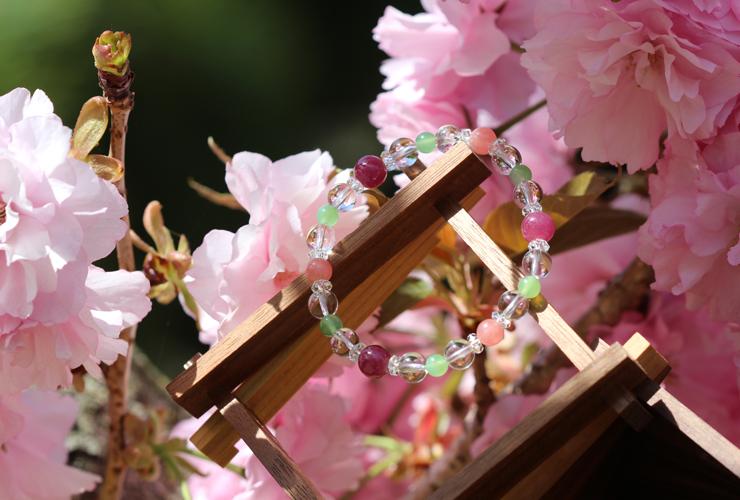 「花咲か」特選ルビーブレスレットのイメージ画像6