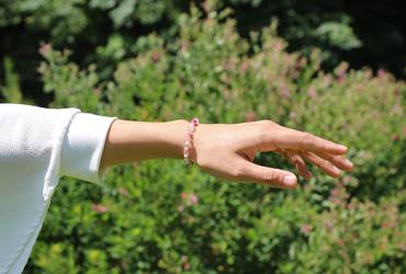 「愛の灯」高品質ピンクトルマリンブレスレット(お客様謝恩~ピンクトルマリン~)のイメージ画像10