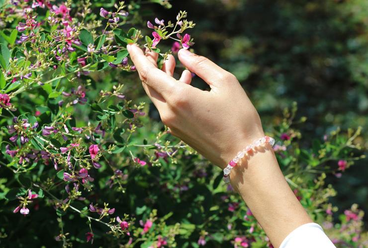「愛の灯」高品質ピンクトルマリンブレスレット(お客様謝恩~ピンクトルマリン~)のイメージ画像2
