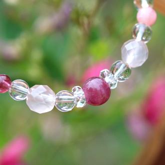 「愛の灯」高品質ピンクトルマリンブレスレット(お客様謝恩~ピンクトルマリン~)のイメージ画像3