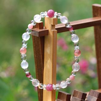 「愛の灯」高品質ピンクトルマリンブレスレット(お客様謝恩~ピンクトルマリン~)のイメージ画像4