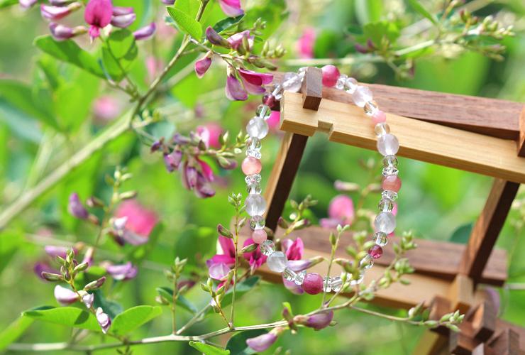 「愛の灯」高品質ピンクトルマリンブレスレット(お客様謝恩~ピンクトルマリン~)のイメージ画像5