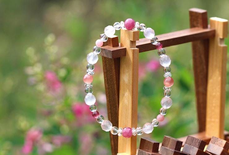 「愛の灯」高品質ピンクトルマリンブレスレット(お客様謝恩~ピンクトルマリン~)のイメージ画像6