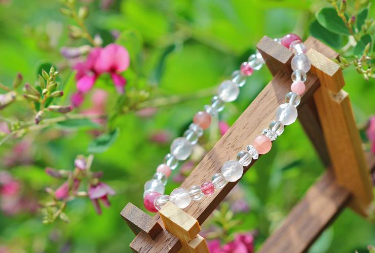「愛の灯」高品質ピンクトルマリンブレスレット(お客様謝恩~ピンクトルマリン~)のイメージ画像8