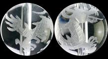 青龍 彫り水晶(10mm)