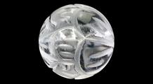 蓮華(レンゲ) 彫り水晶(10mm)