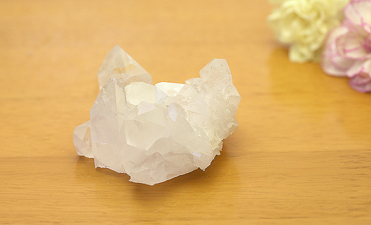 ブラジル産水晶クラスター 003
