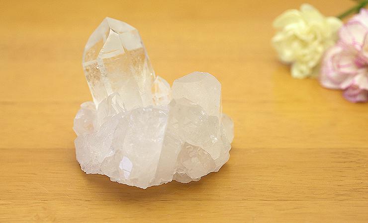 ブラジル産水晶クラスター 005