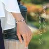 こよみ月~花かずら6ミリ~誕生石 組み合わせブレスレット