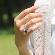 「絆」8ミリ玉オーダーメイドリング・指輪 右