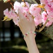 「花咲か」特選ルビーブレスレット 右