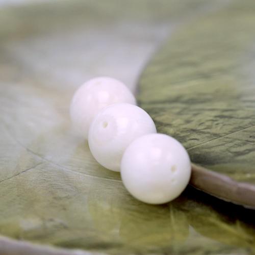 ホワイトコーラル(10mm玉)現在の品質