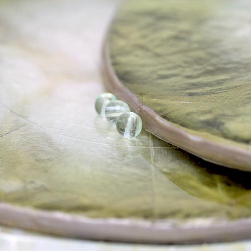 グリーンフローライト(4mm玉)現在の品質