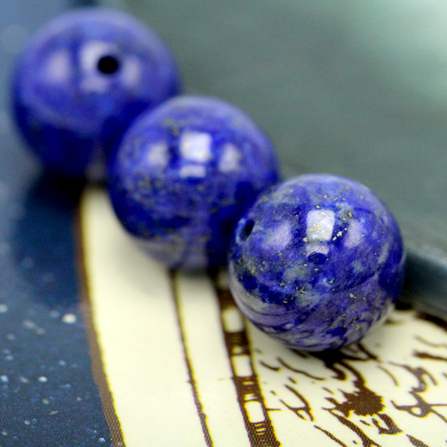 ラピスラズリ(10mm玉)現在の品質