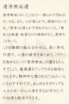 ハウライト・ブラッドストーン・スモーキークォーツ・ガーネット・水晶(クォーツ)の文章1
