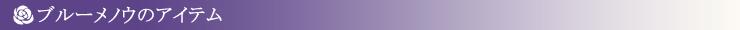 ブルーメノウアクセサリー